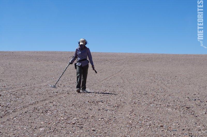 Hunting Imilac meteorites