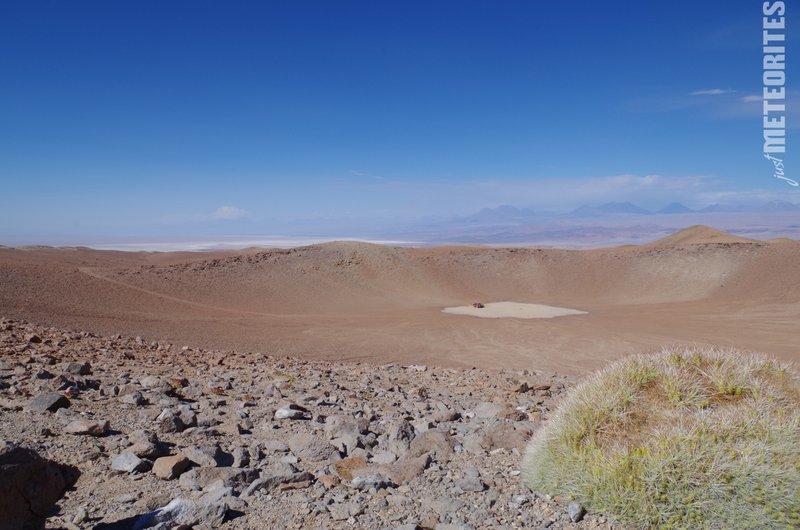 Monturaqui meteorite crater