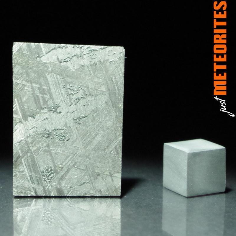 Muonionalusta meteorite slice 9.0g recrystallized